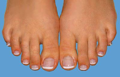 Фото френч на ногтях ноги